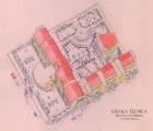 <h5>Escola Técnica de Santa Catarina</h5><p>Escola financiada pelo governo de Luxemburgo e não concluído na totalidade. Imagem tri-dimensional.</p>