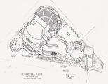 <h5>Centro Cultral de Assomada</h5><p>Este projeto planeado para ser edificado num novo centro de Assomada não foi construído assim como foi desrespeitado o plano urbanístico onde deveria ser implantado. </p>