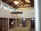<h5>Residência do Embaixador de França</h5><p>Pátio interior com clarabóias da residência.</p>
