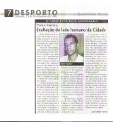 """<h5>Artigo urbanístico </h5><p>Publicação do jornal """"ASemana"""" em defesa de desenvolvimento urbano equilibrado de cidade de Assomada.</p>"""