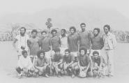<h5>Numa equipa de Futebol em Assomada</h5><p>Tempos depois da libertação do Campo de Concentração do Tarrafal. </p>