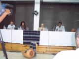 <h5>Conferência de Imprensa</h5><p>Conferênciana cidade da Praia  sobre o Campo de Concentração de Tarrafal com a participação de Edmundo Pedro, ex-Preso Político Português no Campo de Concentração de Tarrafal</p>
