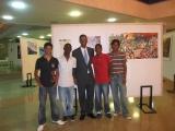 <h5>Exposição </h5><p>Com o meu filho Iany e sobrinhos, Ricardo, Filipe e Kevin na exposição.</p>