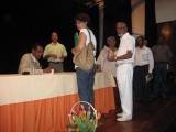 <h5>Apresentação do livro Testemunhos de Um Combatente</h5><p>Cerimónia de apresentação do livro Testemunhos de Um Combatente em Mindelo, com a presença do Sr. Bispo D. Arlindo Furtado.</p>