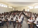 <h5>Conferência em Picos-2</h5><p>Conferência com os estudantes do liceu de Picos na ilha de Santiago.</p>