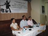 <h5>2-Conferência em Ribeira Grande de Sto. Antão</h5><p>Conferência em Ribeira Grande na ilha de Santo Antão. Em primeiro plano Dra. Sara Borges. </p>