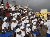 <h5>Em Assomada-1</h5><p>Jovens de Sta. Catarina presentes numa intervenção cívica de Pedro Martins</p>