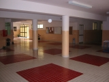 <h5>Escola Técnica de Sta. Catrina</h5><p>Átrio do primeiro piso. Projecto do Arq. Pedro Martins</p>
