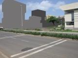 <h5>1-Proposta comercial de um investidor estrangeiro</h5><p>A mesma vista da retunda com proposta de maquetas de edifícios  pretendidos por investidores e  sob anuência da Câmara Municipal da Praia.</p>