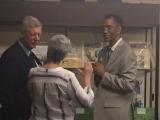 <h5>Com Dr. Richard Lobban numa conferência</h5><p>P. Martins um dos dois intervenientes na comemoração dos 40 anos da Independencia de Cabo Verde, em Providence-EUA. O historiador Dr. Lobban é autor de várias obras sobre a luta de libertação de Cabo Verde e Guiné-Bissau.</p>