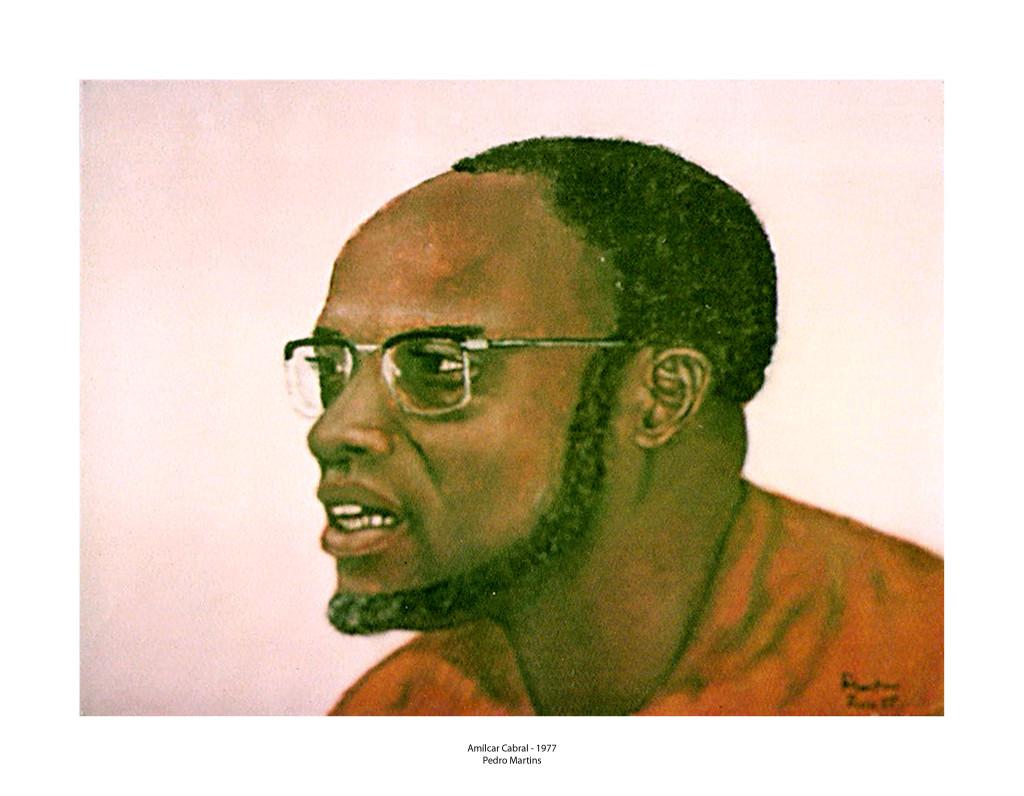 1-Pintura de Amílcar Cabral pelo Pedro Martins-1977