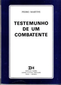 1b-TESTEMUNHOS DE UM COMBATENTE, 2a. edição