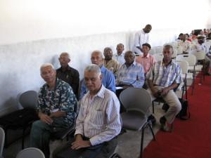14-Mário Fonseca e Osvaldo Silva na conferência sobre o C.C. de Tarrafal