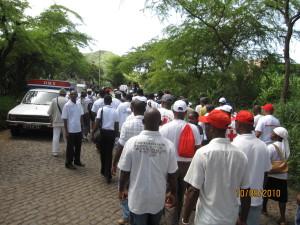 2- Marcha em Achada Falcão