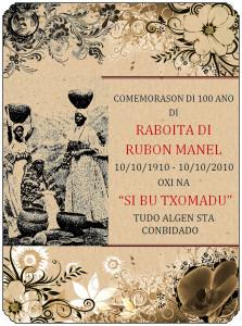 8-Cartaz da Comemoração