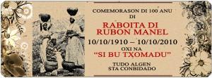 9-Cartaz de Comemoração